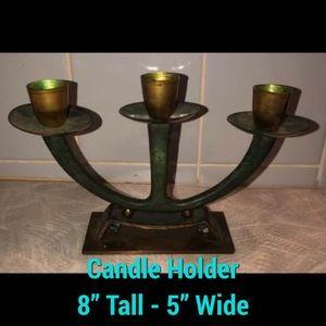 Candle Holder W/ Candles